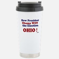 President Won Ohio! Travel Mug