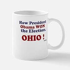 President Won Ohio! Mug
