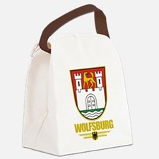 Wolfsburg COA.png Canvas Lunch Bag
