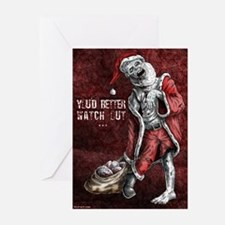 Zombie Santa - Christmas cards (Pk of 20)