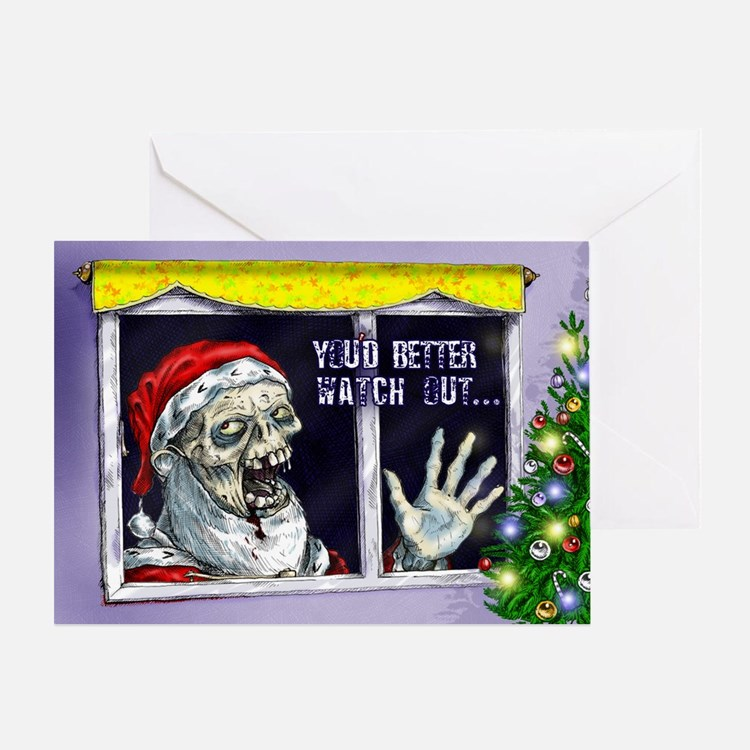 Zombie greeting cards card ideas sayings designs