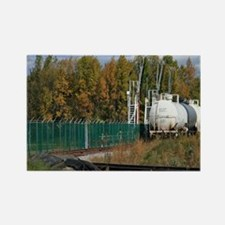 Siding Tanker Train