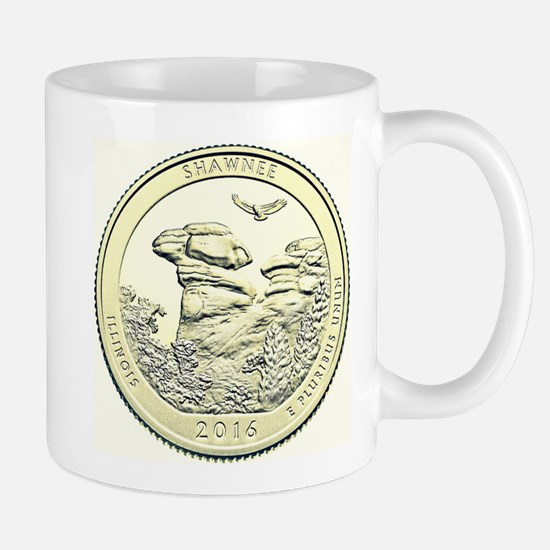 Illinois Quarter Basic 2016 Mug