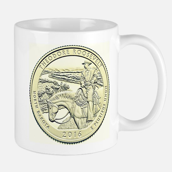 North Dakota Quarter 2016 Basic Mug