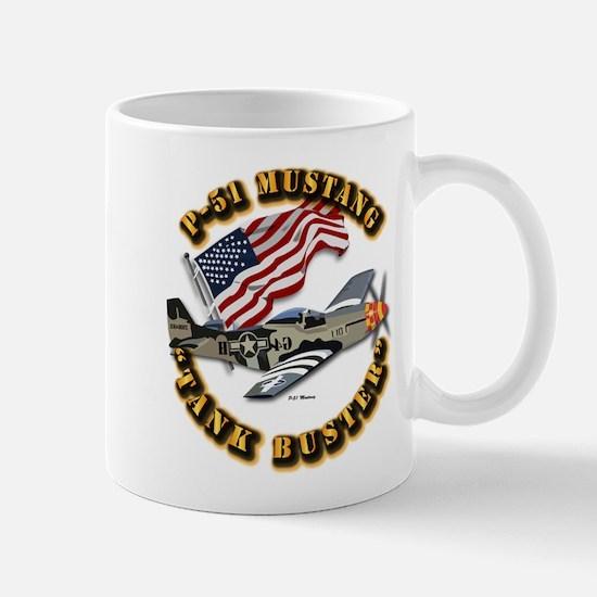 Aircraft - P51 Mustang Mug