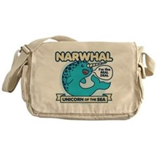 Narwhal Messenger Bag