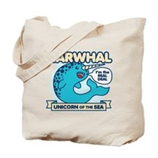 Narwhal Tote Bag