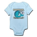 Narwhal Infant Bodysuit