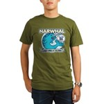 Narwhal Organic Men's T-Shirt (dark)