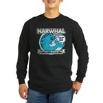 Narwhal Long Sleeve Dark T-Shirt