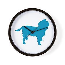 Blue Affen Wall Clock