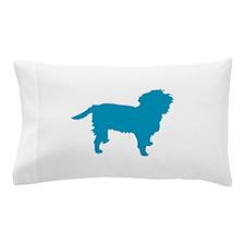 Blue Affen Pillow Case