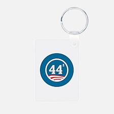 44 Squared Obama Keychains