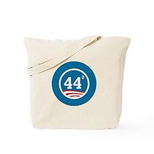 44 Squared Obama Tote Bag