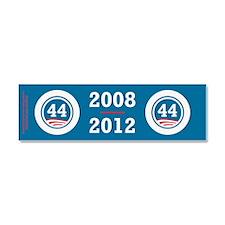 44 Squared Obama Car Magnet 10 x 3