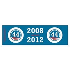 44 Squared Obama Bumper Sticker