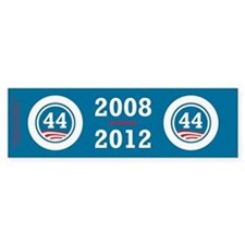 44 Squared Obama Stickers