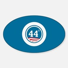 44 Squared Obama Decal