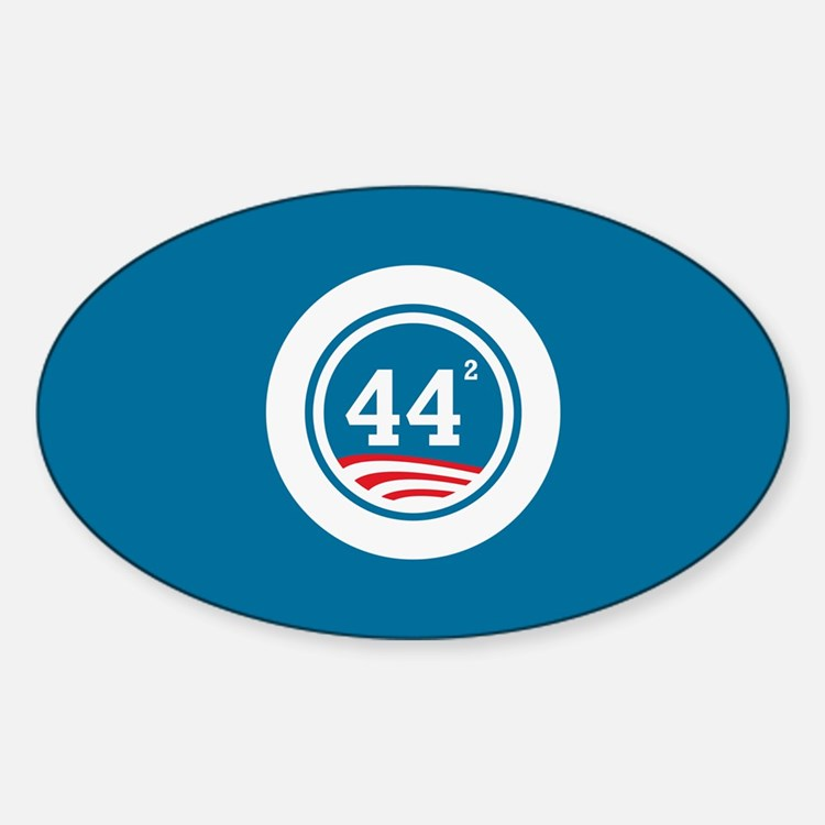 44 Squared Obama Decal