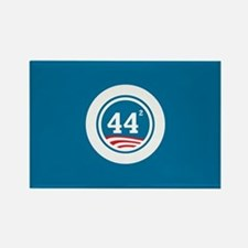 44 Squared Obama Rectangle Magnet