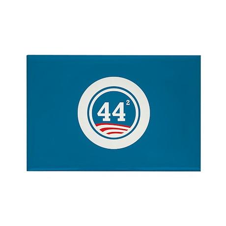 44 Squared Obama Rectangle Magnet (100 pack)