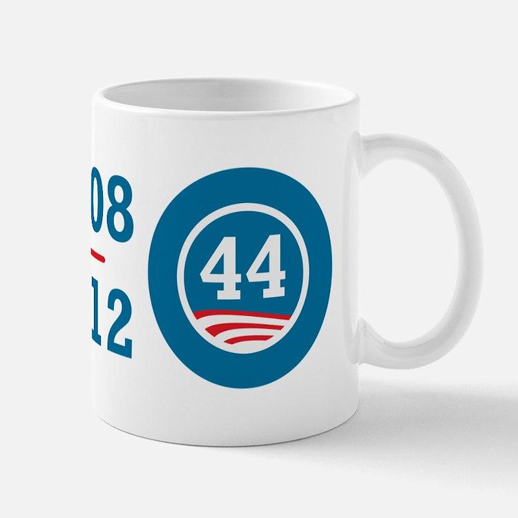 44 Squared Obama Mug