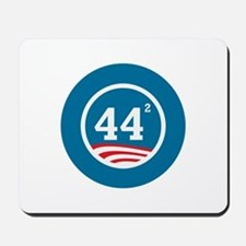 44 Squared Obama Mousepad