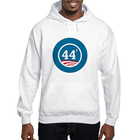 44 Squared Obama Hooded Sweatshirt