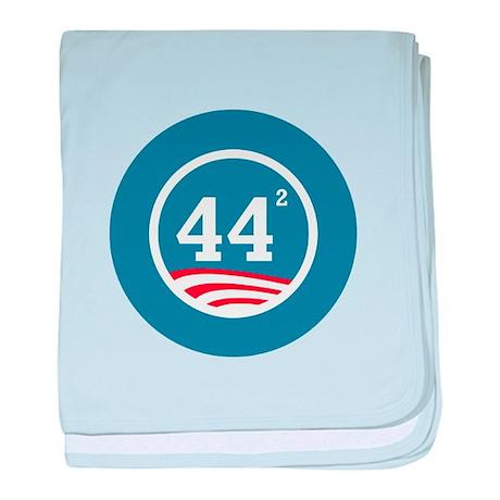 44 Squared Obama baby blanket