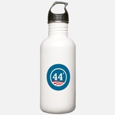 44 Squared Obama Sports Water Bottle