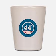 44 Squared Obama Shot Glass