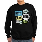 Text Shortcuts Sweatshirt (dark)
