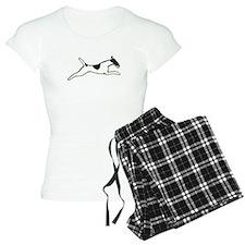 Leaping Smooth Fox Terrier Pajamas
