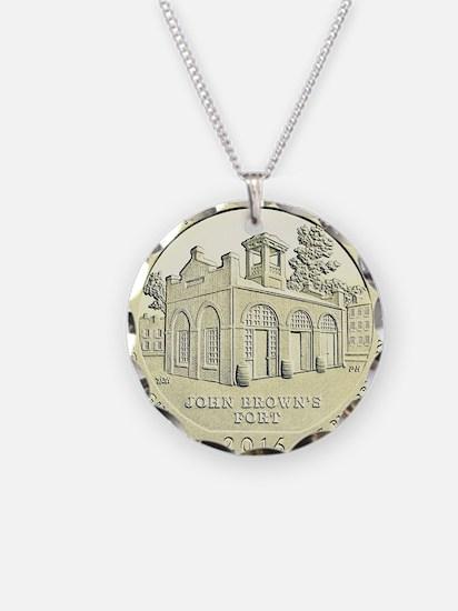 West Virginia Quarter 2016 Basic Necklace
