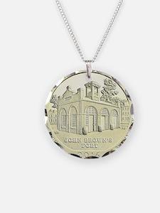 West Virginia Quarter 2016 Basic Necklace Circle C