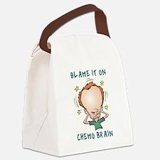 CHEMO BRAIN Canvas Lunch Bag