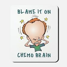 CHEMO BRAIN Mousepad