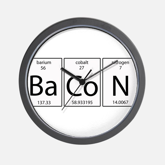 Bacon periodic Wall Clock
