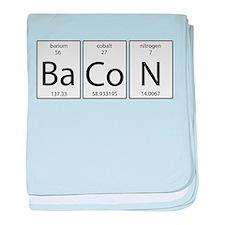 Bacon periodic baby blanket