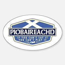 Piobaireachd Rectangle Decal