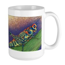 Painted Grasshopper Mug