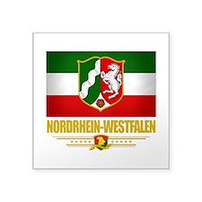 Nordrhein-Westfalen (Flag 10).png Square Sticker 3