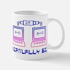 Virtually bi (male) Mug