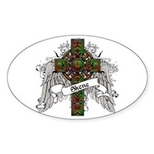 Skene Tartan Cross Decal