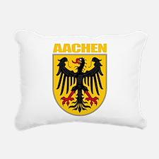Aachen (gold).png Rectangular Canvas Pillow