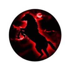 """Fire Horse 3.5"""" Button"""