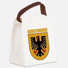 Dortmund (tan).png Canvas Lunch Bag