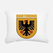Dortmund (tan).png Rectangular Canvas Pillow