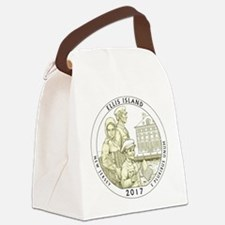 New Jersey Quarter 2017 Canvas Lunch Bag