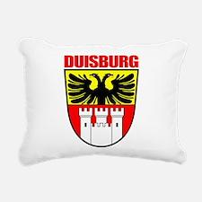 Duisburg (red).png Rectangular Canvas Pillow